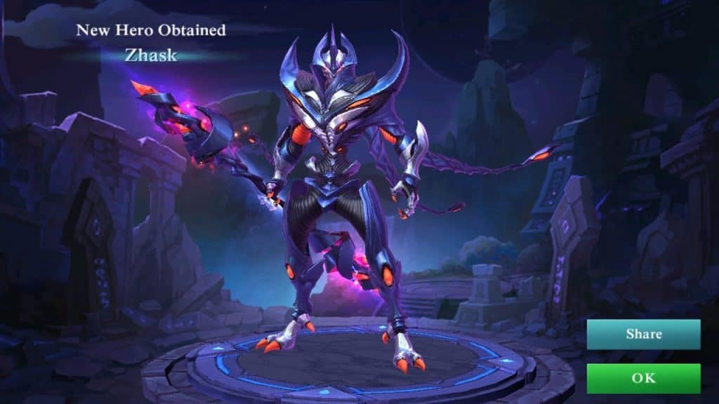 Kisah Zhask Hero Mobile Legends