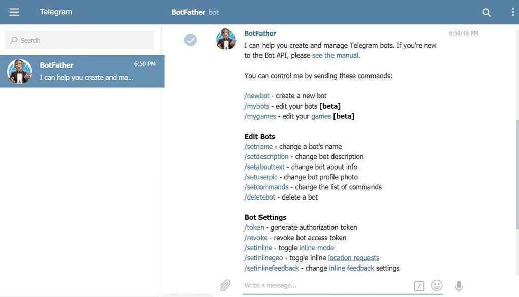 Cara Menggunakan Fitur Telegram Bot di HP Android