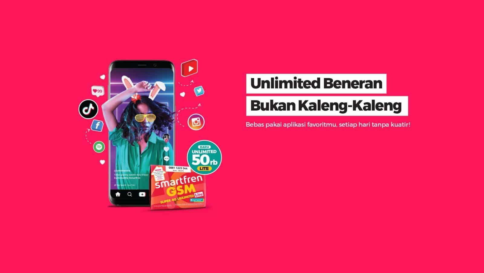 Kumpulan Daftar Harga Paket Internet Smartfren Unlimited GSM MIFI 4G