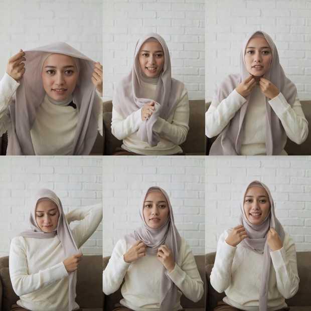 Cara Memakai Hijab Sesuai Syar'i