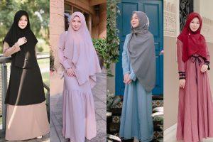 Tips Memilih Model Baju Muslim Untuk Lebaran
